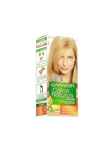 Garnier Garnier Color Naturals Saç Boyası 9 Sarı Renkli